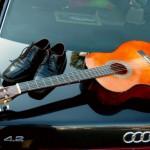 Im Schatten des Audi V8…