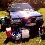 20 Jahre Audi V8 – und immer noch wild.