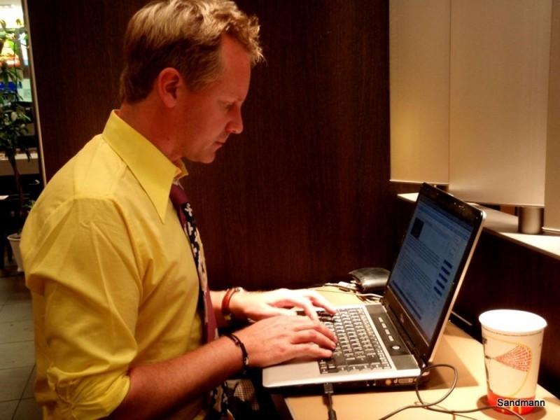 Echtzeit-Bloggen in der Fastfood Kette