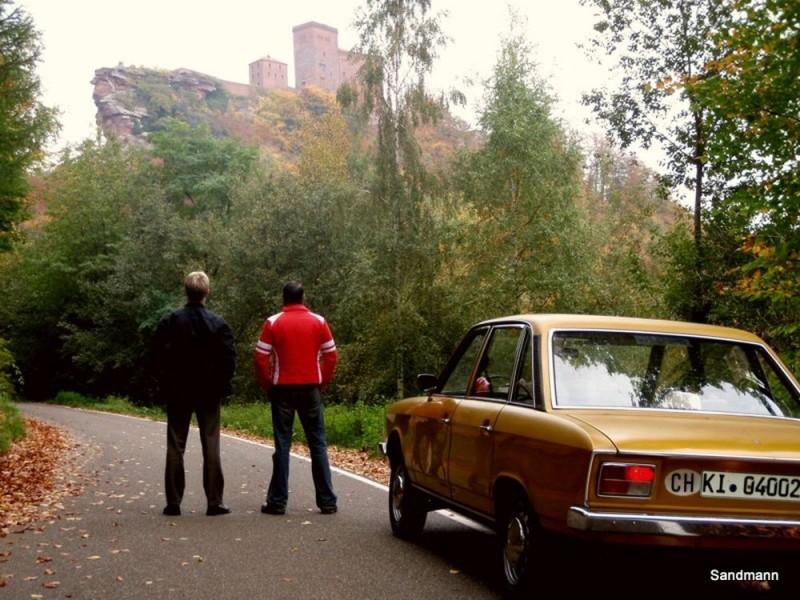 Burg Trifels... so sehen wir uns wieder.