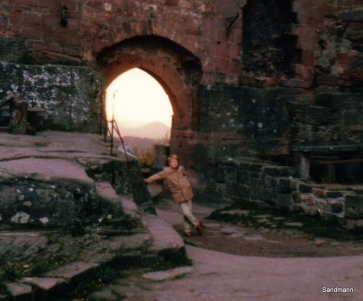 Jensi in der Madenburg 1978