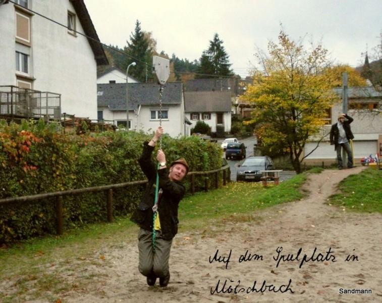 Der Spielplatz in Mölschbach 2008