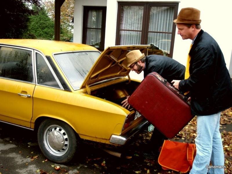 Größter Kofferraum seiner Klasse. Wir packen das.