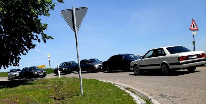 So parken doch sonst nur Frauen, oder?