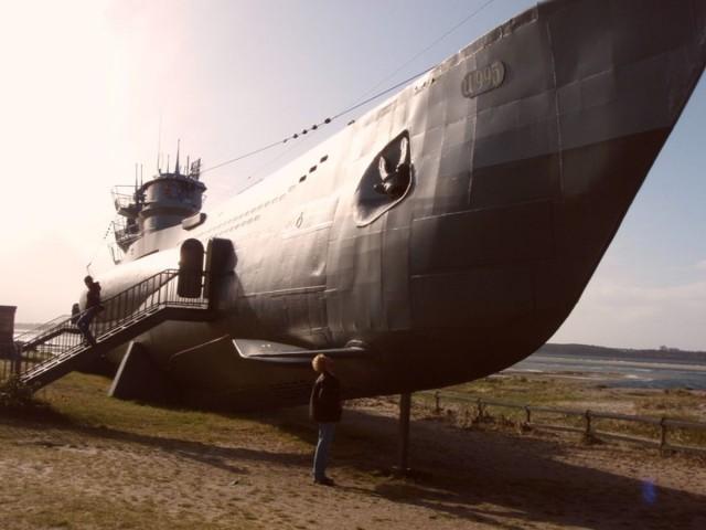 Auch U-Boote rosten.