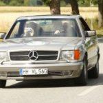 Im V8-Benz durch Deutschland