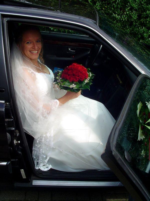 Die Braut in der Kutsche