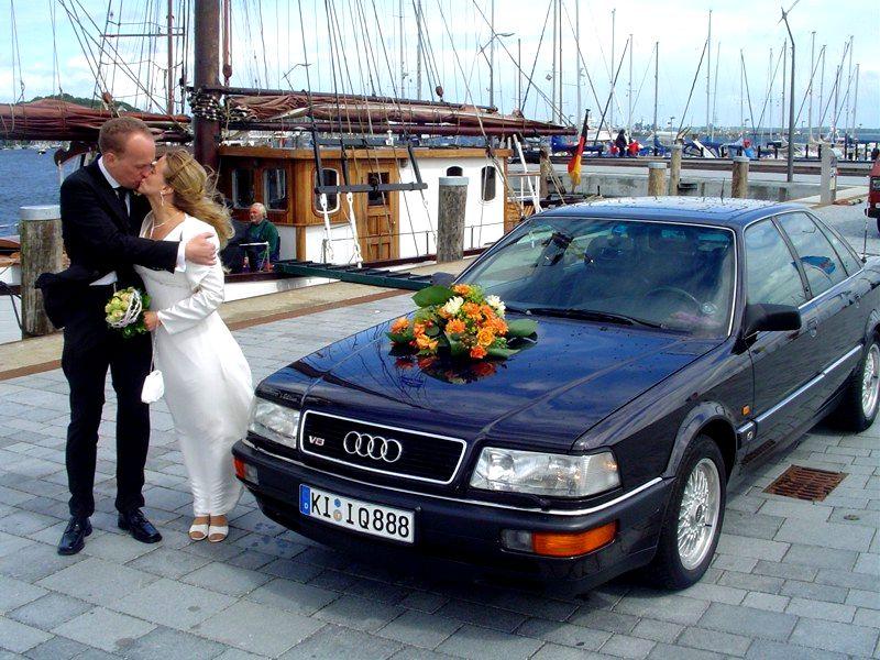 Sie dürfen die Braut schon jetzt küssen