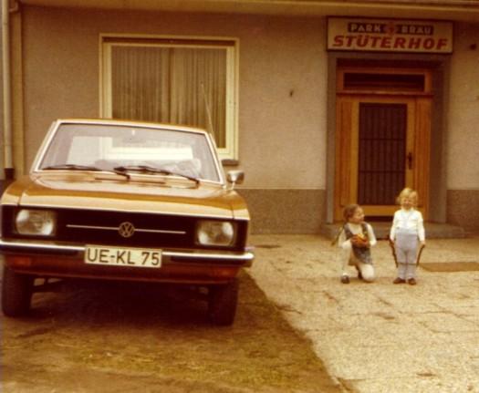 Anita und Sandmann am Stüterhof