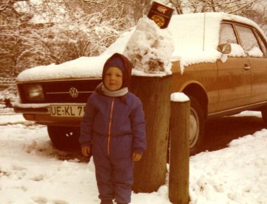 Sandmännchen im Winter 1973