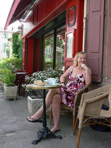 Cafe und Croissant