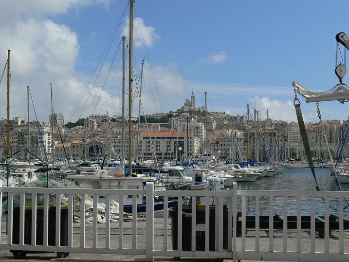Marseilles, der Hafen