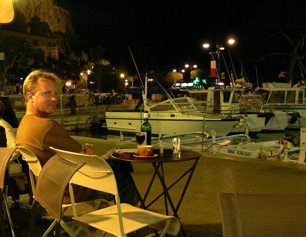 Am Hafen in der Nähe von Ephraim