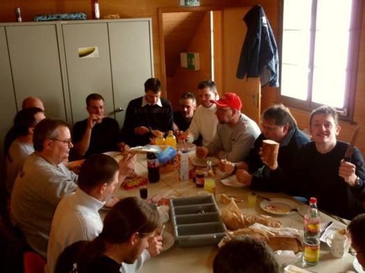 Die frühstückende Community