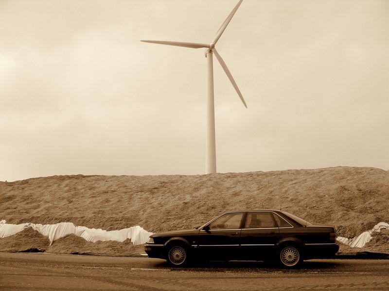 Wind, Gas und Biogas