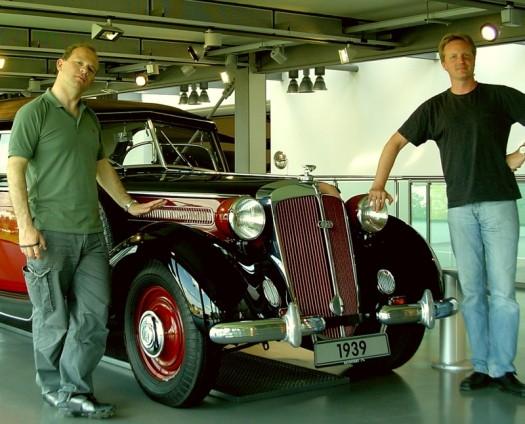 Die Herren und das Auto