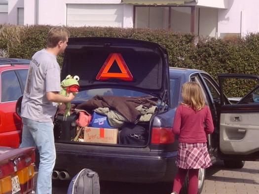 Der große gefräßige Kofferraum