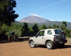 Vitara goes to Teide