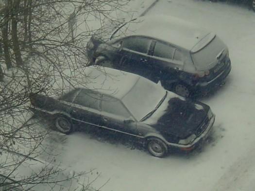 Der Schnee kommt 01