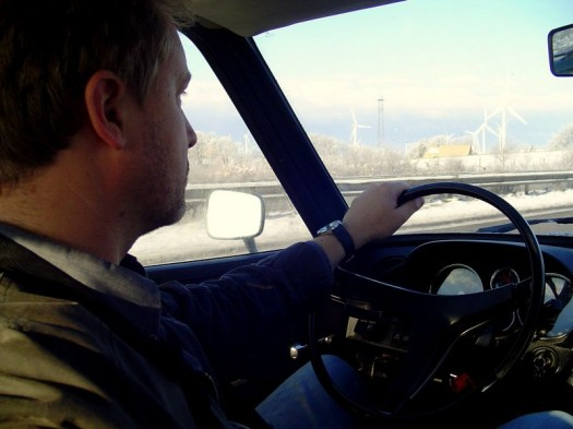Driving in the Winterwonderworld