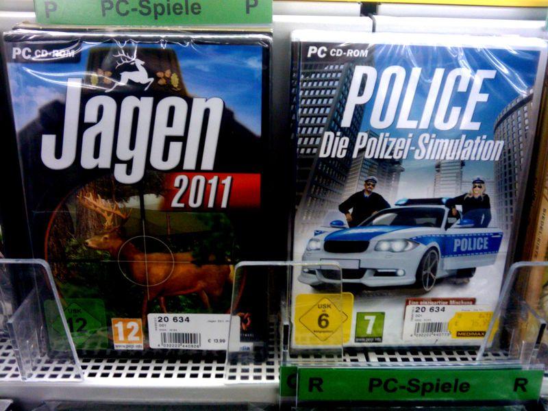 Jagen und Polizei