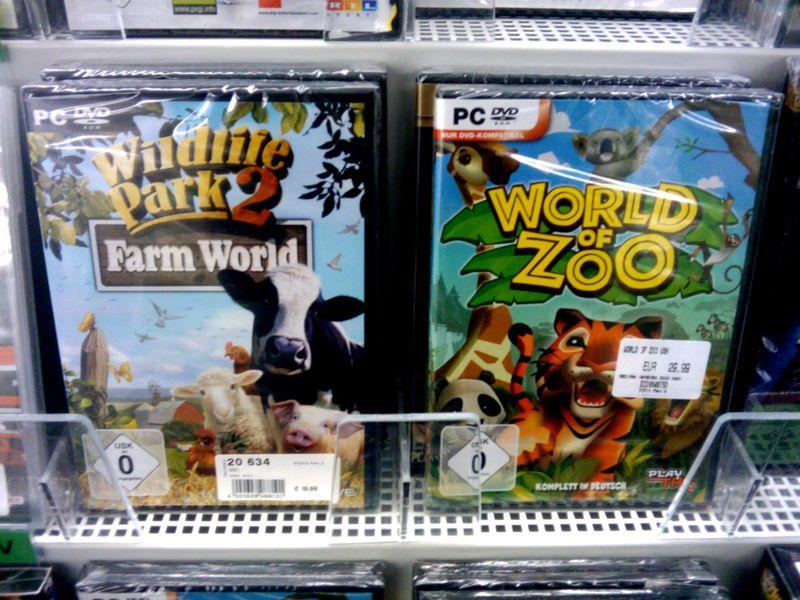 Wildes Leben oder nur Zoo