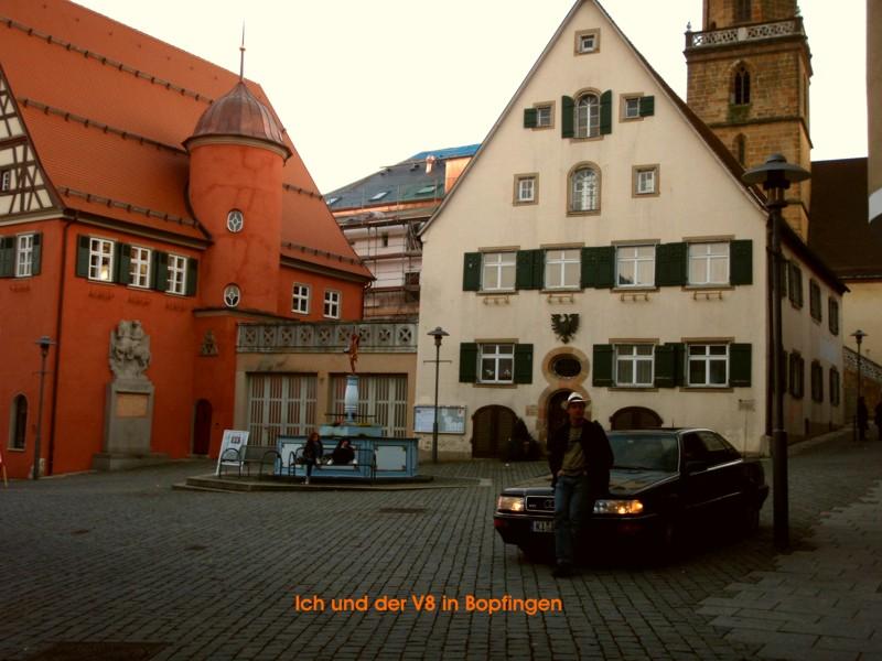 Quer durch die Republik im Audi V8