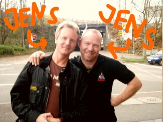 Nach Klaus und Klaus nun Jens und Jens