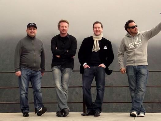 Das Blogger-Quartett