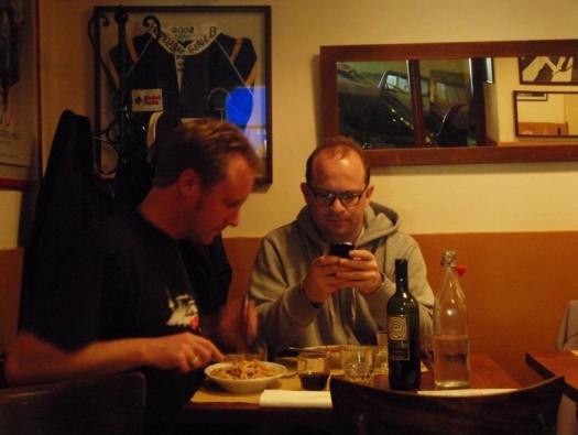 Ein bürgerliches Mahl in der Taverne