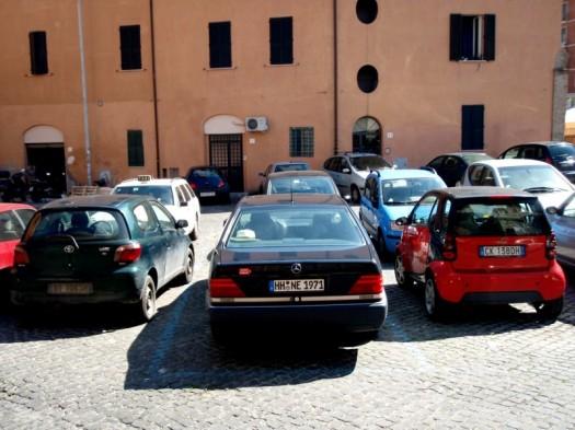 Parkplatzprobleme? Wir nicht.