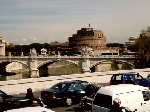 Stau aus Rom heraus