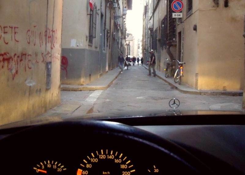 Geburtstag im Benz in Florenz