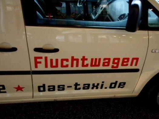 Das ist mal ein Taxi.
