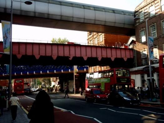 Verkehrswege einer Stadt