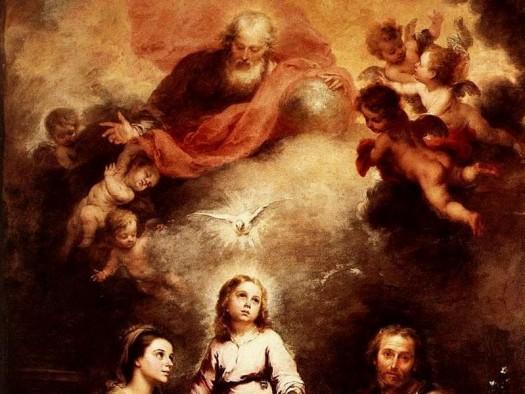 Eine Gemeinde von Heiligen