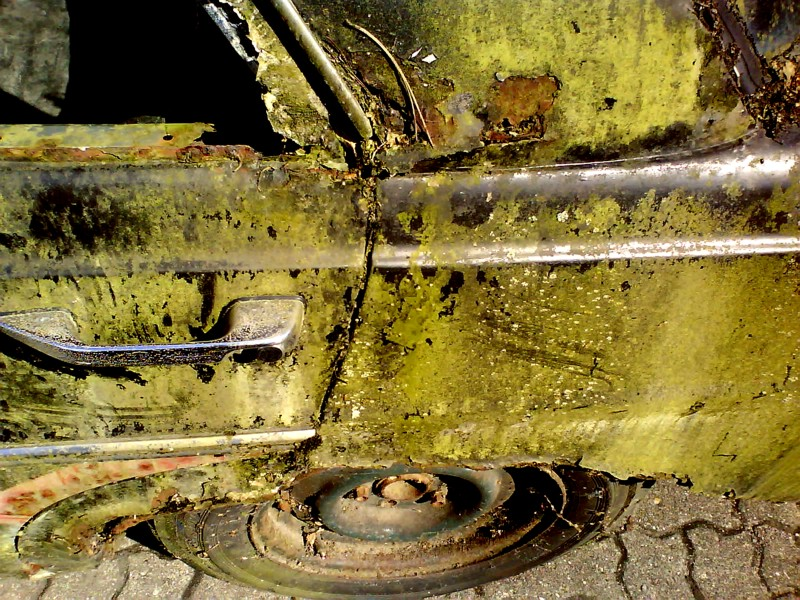 Kantenrost wie beim Opel Astra