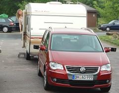 Prima Zugfahrzeug: der VW Touran 2.0 TDI