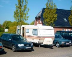 Kein K70-Treffen ohne unseren Wohnwagen