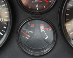 Tank fast voll - Kühlwasser heiss!