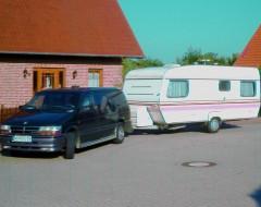 Chrysler Voyager LE: der Ottomotor genehmigte sich ordentlich