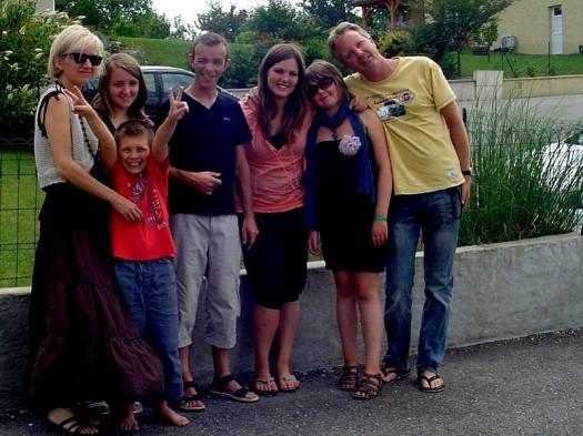 Freunde in Frankreich