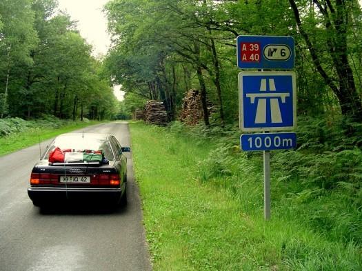 Autobahn? Hier???
