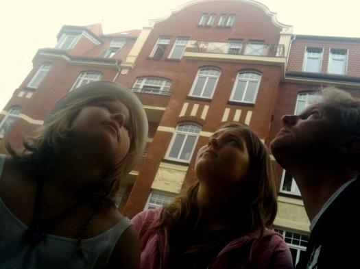 Regen in Kiel...