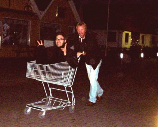 Wir waren shoppen