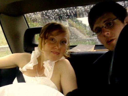 Im Fond lässt es sich gut heiraten