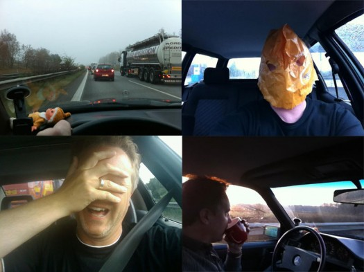 Country roads, take Sandmann home