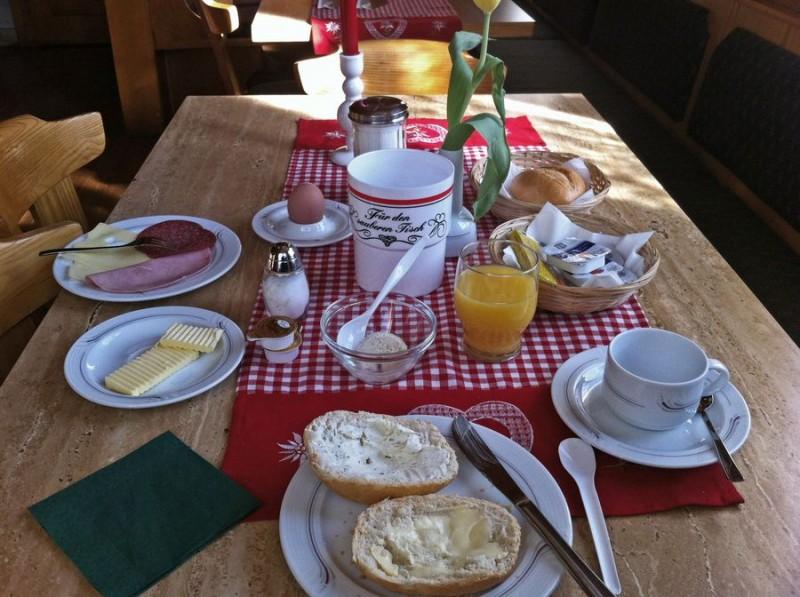 SO sieht ein Frühstück aus!