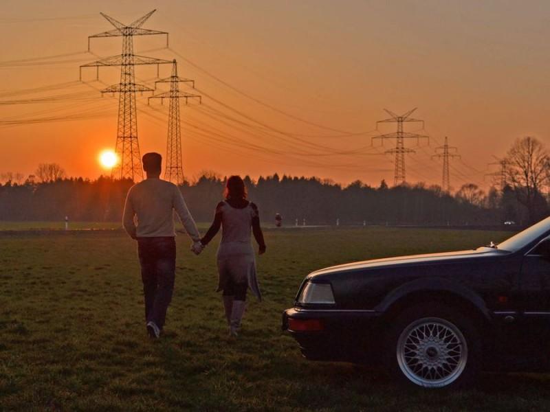 Der Sonnenuntergang der Liebenden