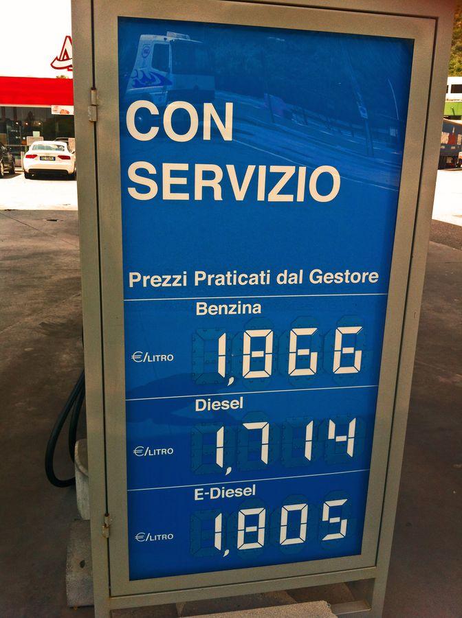 Etappe dernière – wo Diesel teurer als Super ist